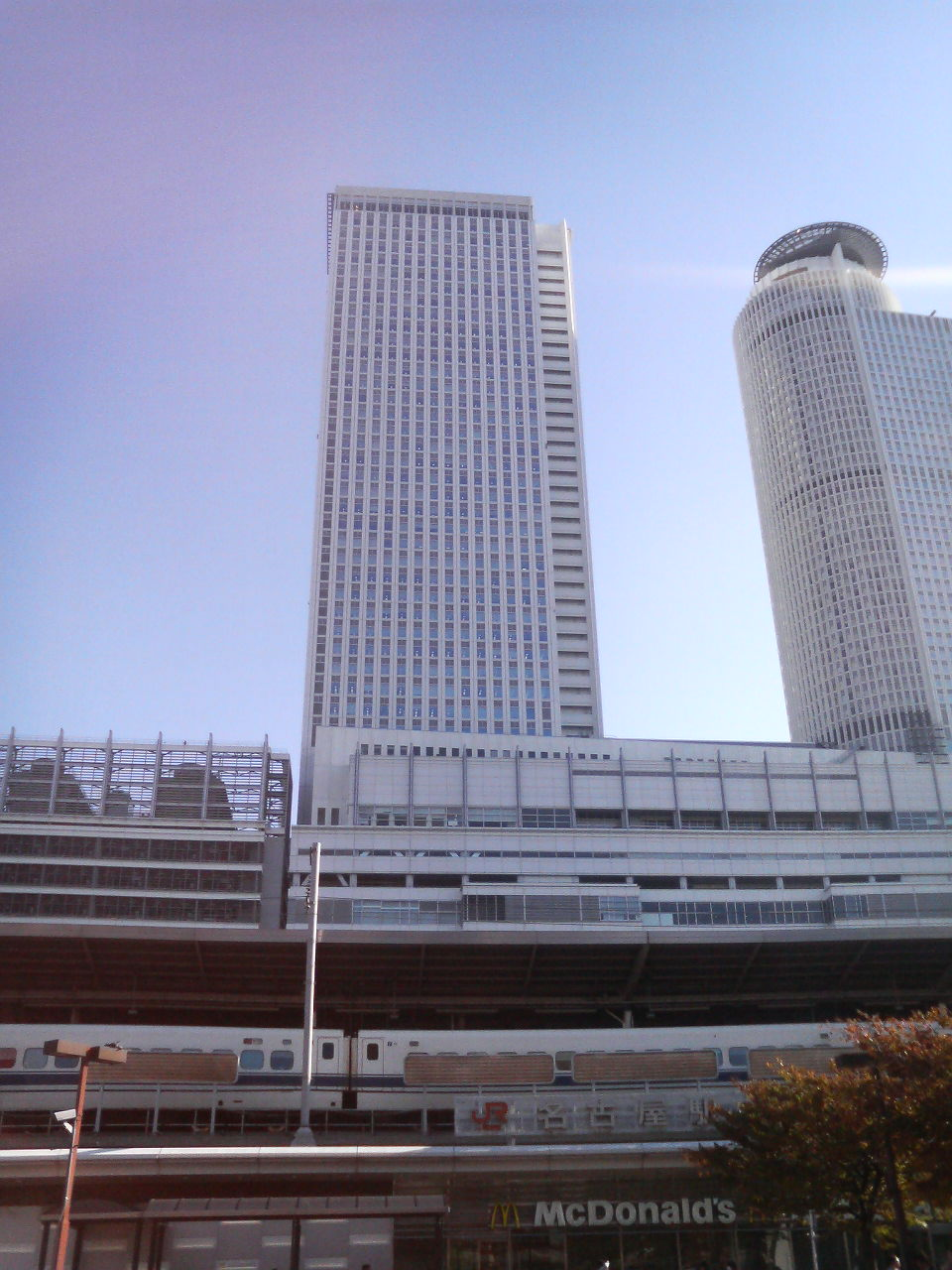 名古屋出張・朝の光景