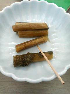 野沢菜漬け