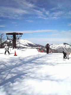 スノーボードセッション